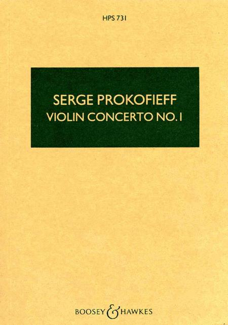 Violin Concerto No. 1 in D, Op. 19