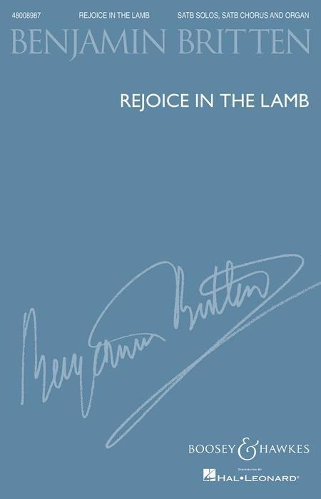 Rejoice in the Lamb, Op. 30