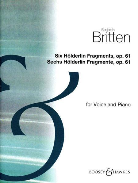 6 Holderlin Fragments Voc/kybd