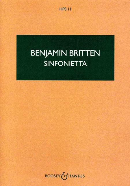 Sinfonietta, Op. 1