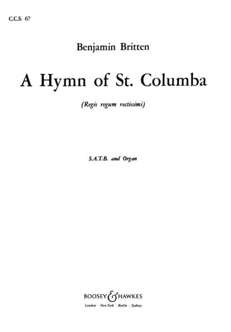 A Hymn of St. Columba