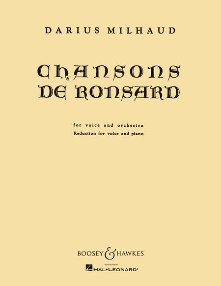 Chansons de Ronsard