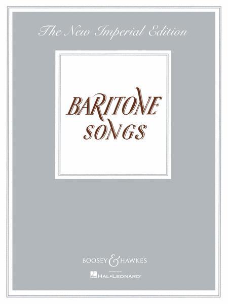 Baritone Songs
