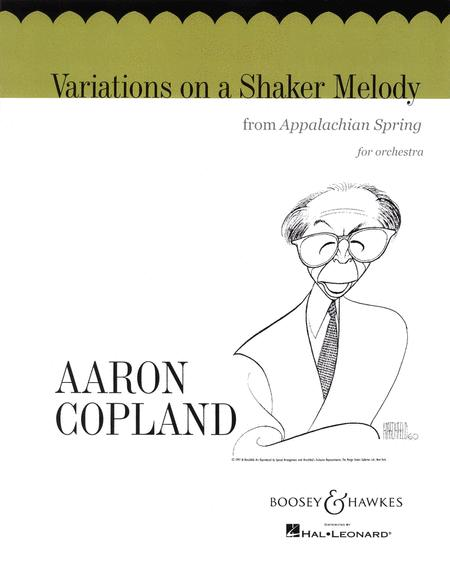 Variations on a Shaker Melody (from Appalachian Spring)
