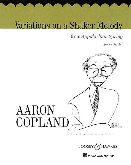 Variations on a Shaker Melody from Appalachian Spring