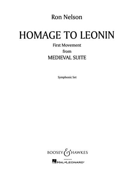 Homage to Leonin