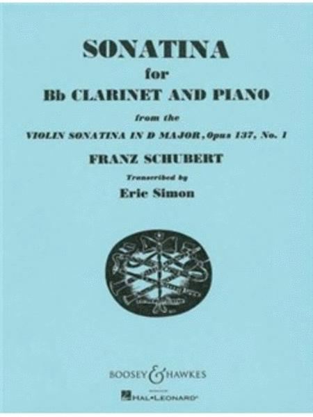Sonatina for Bb Clarinet and Piano