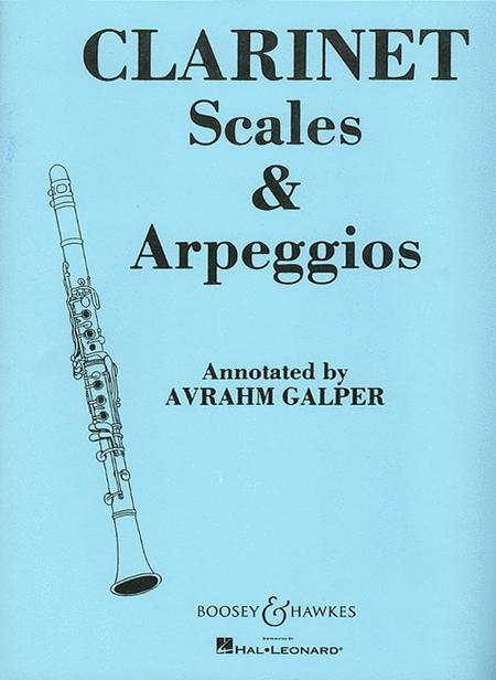 Clarinet Scales & Arpeggios