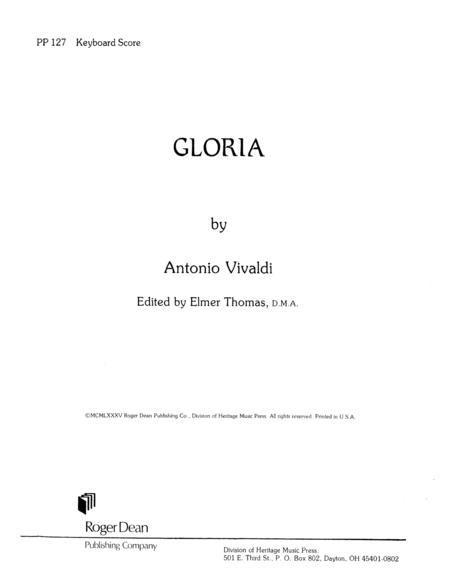 Gloria - Keyboard Realization