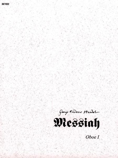 Messiah - Oboe I
