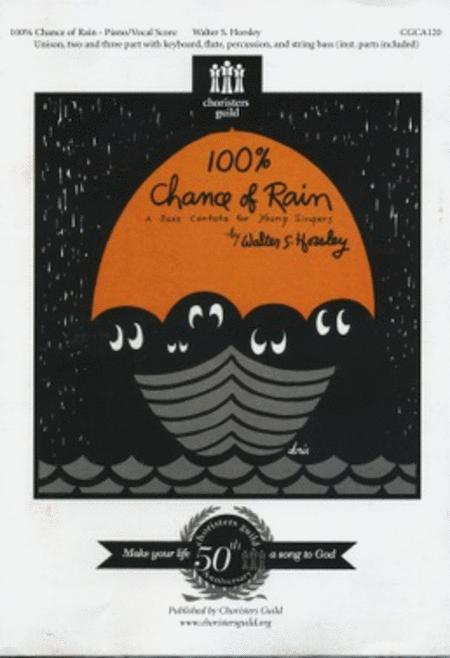 100% Chance of Rain - Piano/Vocal Score (New Edition)