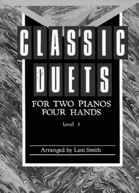 Classic Duets for Two Pianos - Level 3