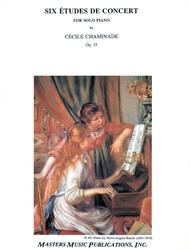 Six Etudes de Concert, Op. 35