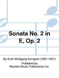 Sonata No. 2 in E, Op. 2