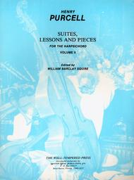 Suites, Lessons and Pieces for the Harpsichord, Volume 2
