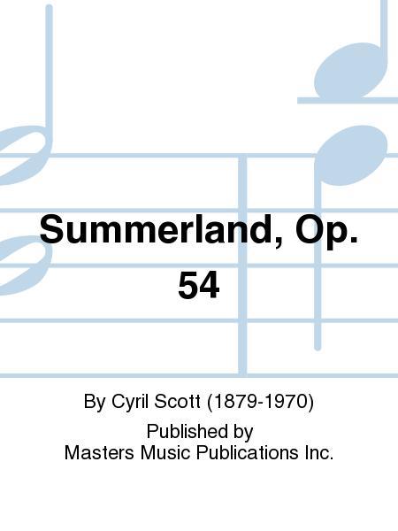 Summerland, Op. 54