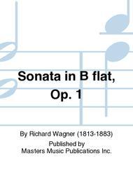 Sonata in B flat, Op. 1