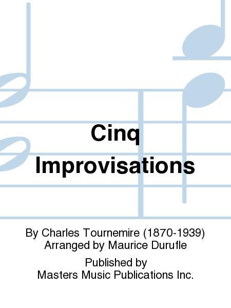 Cinq Improvisations