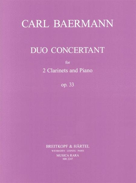 Duo concertant Op. 33