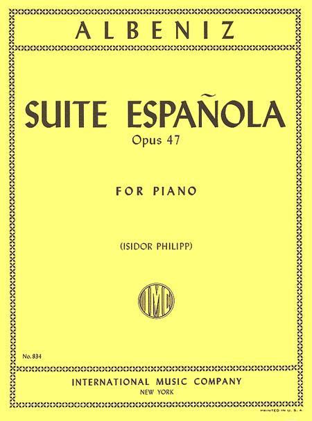 Suite Espanola, Opus 47 (for Piano)