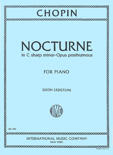 Nocturne in C sharp minor (Opus posthumous)