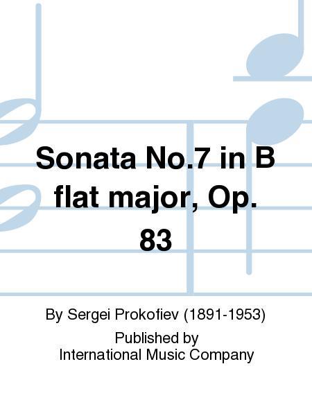 Sonata No.7 in B flat major, Op. 83