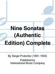 Nine Sonatas (Authentic Edition) Complete