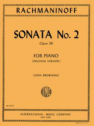 Sonata No. 2 in B flat minor, Opus 36 (Original version)