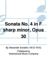 Sonata No. 4 in F sharp minor, Opus 30