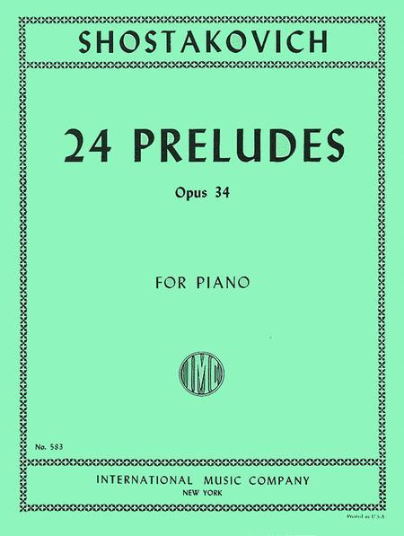 24 Preludes, Op. 34