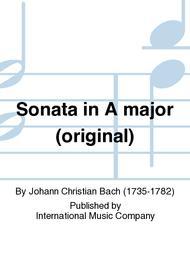 Sonata in A major (original)