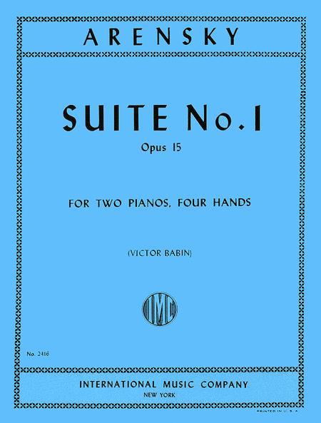 Suite, Op. 15 (set)