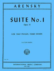 Suite, Op. 15 (set)