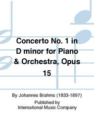 Concerto No. 1 in D minor for Piano & Orchestra, Opus 15