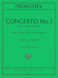 Concerto No. 1 in D flat major, Op. 10 for Piano & Orchestra