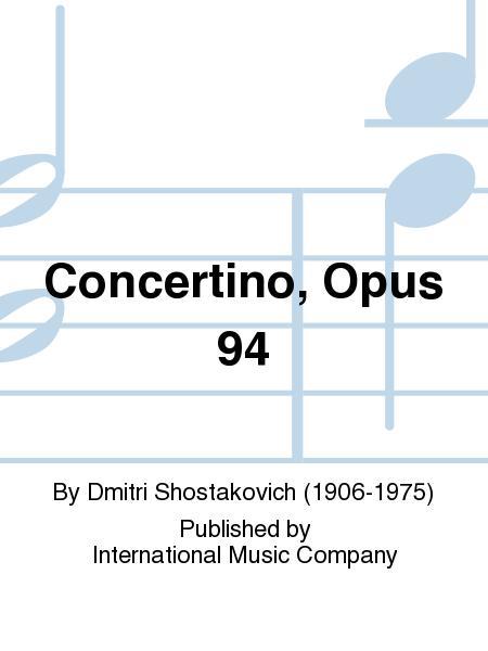 Concertino, Opus 94