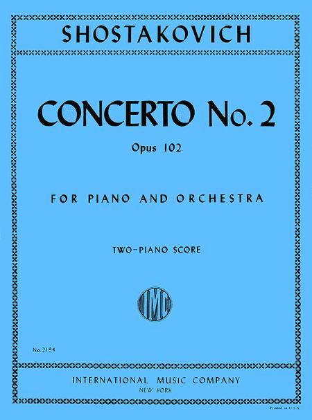Concerto No. 2 in F Major, Op. 102 for Piano and Orchestra