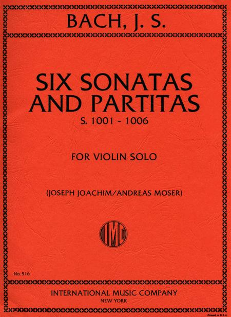 Six Sonatas and Partitas, BWV1001-1006