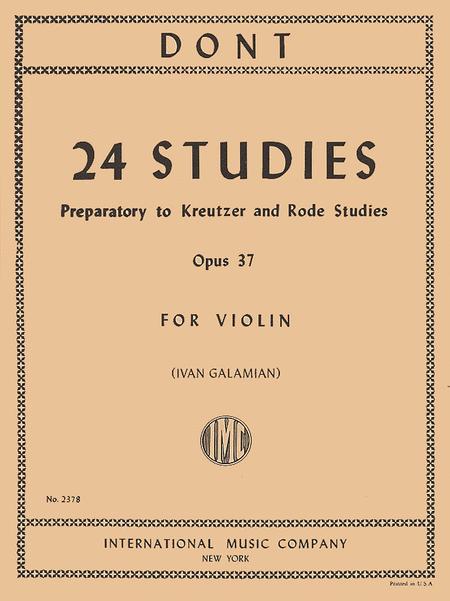 24 Studies, Opus 37