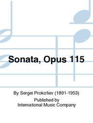 Sonata, Opus 115