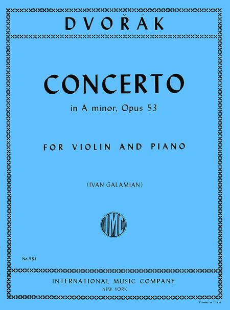 Concerto in A minor, Op. 53