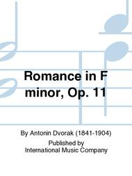 Romance in F minor, Op. 11
