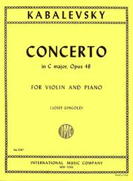 Concerto in C major, Opus 48