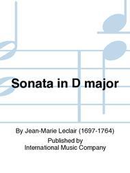 Sonata in D major