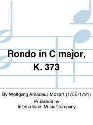 Rondo in C major, K. 373
