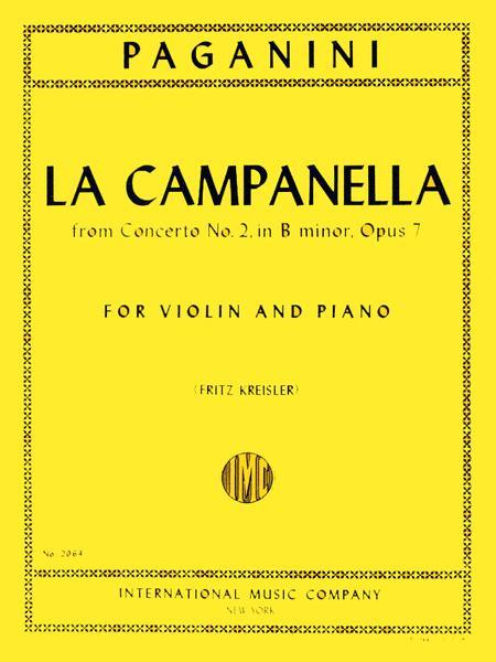 La Campanella (The Bell), Op. 7