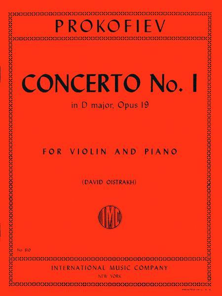 Concerto No. 1 in D major, Op. 19