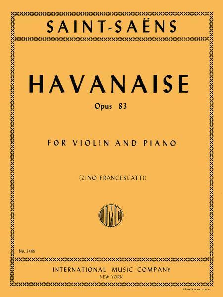 Havanaise, Op. 83