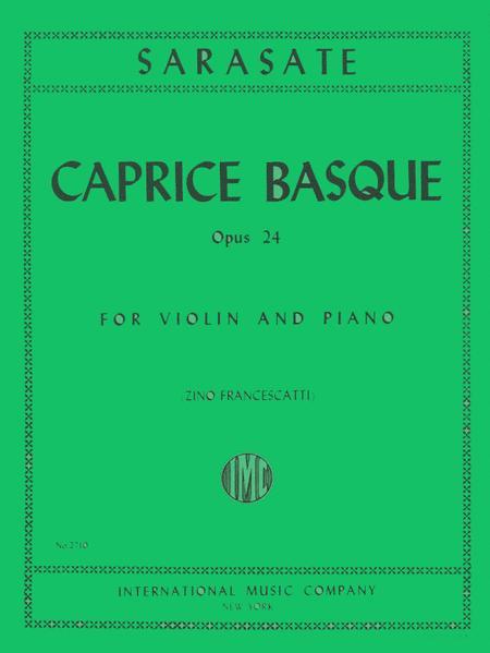 Caprice Basque, Op. 24