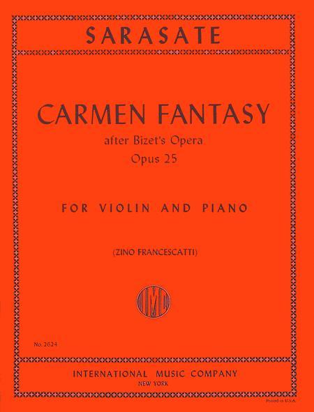 Carmen Fantasy, Opus 25